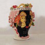 Ceramiche di Caltagirone - Vaso Paladini Siciliani